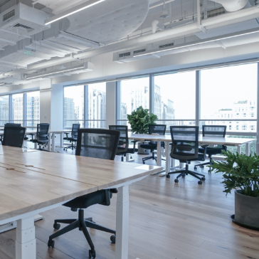 Property services - Empty modern office space